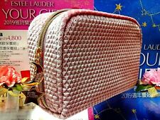 "✰Christmas Gift✰ ESTEE LAUDER ✰☾Pink Flannel Cosmetic Bag☽✰~✰"" FREE POST! ""✰~"