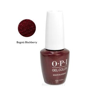 OPI Soak Off Gel Nail Polish GC F52 Bogota Blackberry 0.5oz