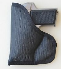 Pocket Holster for AMT BACK-UP 380 MegaGrip Diamond Embossed Sticky Fabric