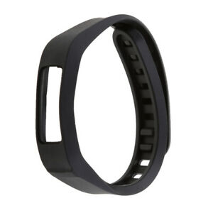 Replacement strap with metal watch clasp for 2 sports bracelets