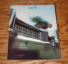 Original 1970 Ford Full Size Cars Sales Brochure LTD XL Galaxie 500 Custom 70