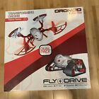 Dronoid Transforming Drone Tanker Series Dual Pack Cyber Red NEW OPEN BOX