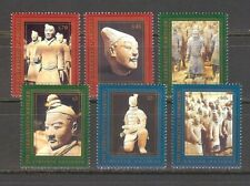 U.N. 1997 Terracotta Warriors Singles From All Three Offices
