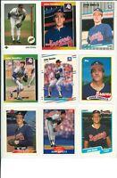 Lot of (42) John Smoltz Cards w/ Rookies RC and Inserts MLB Atlanta Braves