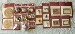 Miniatures Pick & Mix Nursey, Kitchen, Garden, Toolbox, Bathroom, Ceiling Rose