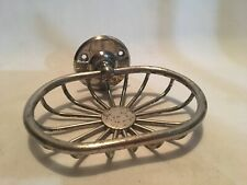 Chrome Vintage Soap Dish Universal New Britain Connecticut Art Deco