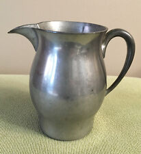 """New listing WOODBURY PEWTERERS SMALL PEWTER HANDMADE CREAMER PITCHER  4 1/2"""" Tall"""