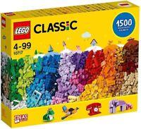 Lego 10717 Classic 1500 Bricks Starter Set with Ideas - New & Factory Sealed