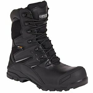 Apache Combat Leather Composite Waterproof  S3 Safety Boot