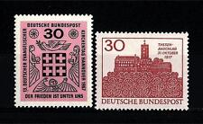 FEDERAL REPUBLIC OF GERMANY - GERMANIA REP. FED. - 1966-1967 - Soggetti diversi.