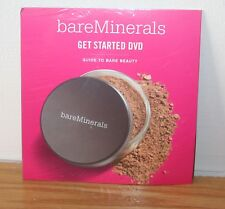 bare Minerals Bare Escentuals Get Started DVD Guide To Bare Beauty - New Sealed