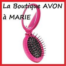 BROSSE Confort pliable + miroirs pour cheveux AVON NEUF Super pratique en Voyage