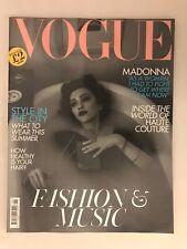 VOGUE .Madonna. Fashion & Music