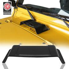 Black Engine Air Intake Hood Vent Scoop Cover for 98-18 Jeep Wrangler TJ JK
