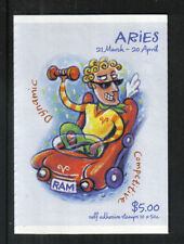 Australia 2007 Zodiac/Aries sa bklt-Attractive Art Topical (2654a) Mnh