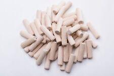 Wooden Dowels Pins  8mm x 30,40,50mm Furniture Hardware woodpecker 100Pcs