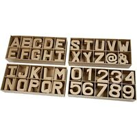 Small 3D Paper Mache Papier Mache Cardboard Letters To Decorate Or Decopatch