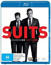 Suits : Season 6 : Part 1 (Blu-ray, 2016, 2-Disc Set) (Region B) Aussie Release