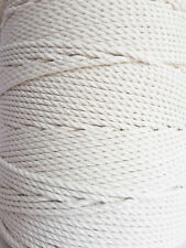 5 mm Cotton cord 100 m Macrame rope 13/64 in DIY rope Natural craft Macrame cord