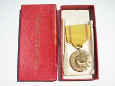 WW2 - USMC US NAVY - CHINA SERVICE MEDAL w/ Original Box  Lot1