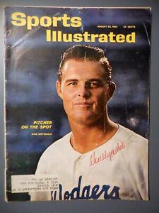1962 Signed Autographed Don Drysdale Sports Illustrated HOF LA Dodgers