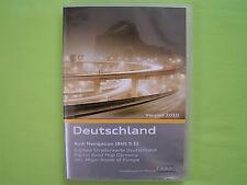 CD NAVIGATION SOFTWARE EX DEUTSCHLAND + EUROPA 2010 AUDI BNS 5.0 A2 A3 A4 A6 TT
