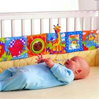 Kids Animal Cloth Book Infants Baby Intelligence Development Toys Bed Cognize