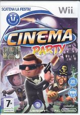 Nintendo Wii **CINEMA PARTY** nuovo sigillato italiano pal