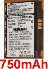 Batería 750mAh tipo AB653039CE AB653039CEC Para Samsung GT-S3310