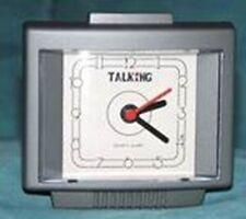TALKING ANALOG SQUARE CLOCK ENGLISH SPEAKING