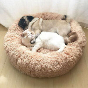 Pet Bed Soft Cushion Dog Cat House Warm Large Blanket Sleeping Puppy Kennel Mat