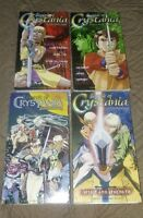 Legend Of Crystalia 1996 English Language x4 Vhs Anime Motion Picture Freeship