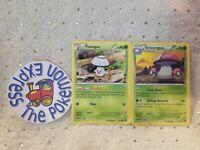 Pokémon TCG Foongus #12/114 Amoonguss #13/114 Xy Steam Siege Grass Mint English