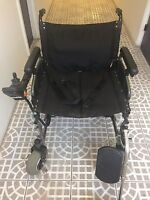 Merits P101 Folding Electric Power Wheelchair Seat 600 Lbs.