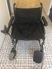 Merits P101 Folding Electric Power Wheelchair Seat 600 Lbs.