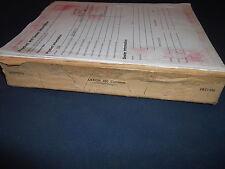 cat caterpillar lexion 480 mähdrescher parts book manual s/n 2bz1-up