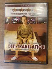 Lost in Translation (Dvd, 2003) W/Case