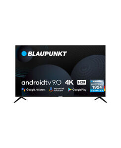 Smart TV 50 Pollici 4K Ultra HD Android TV Televisore LED Blaupunkt 50UN265