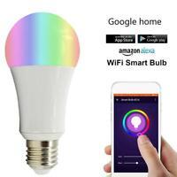 18W B22 E27 Smart Bulb Wireless WiFi Remote Control Light for Alexa Google Home