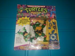 Vintage Ninja Turtles Mutants Turtle TMNT Breakfightin' Raphael Cut Card
