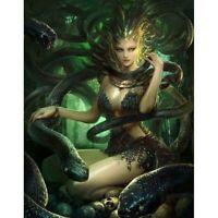 Medusa the Greek goddess DIY Mosaic Full Drill Diamond Painting Cross Stitch Art