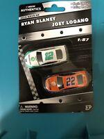 Ryan Blanney/joey Lagano 1/87