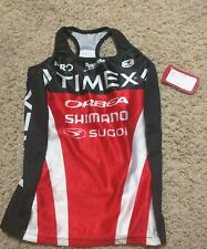 Sugoi Timex fizz Tri Tank Top Xtra small xs womens Cycling Running Triathlon