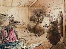 Helen Beatrix Potter la souris entendre simpkin hors ART PRINT POSTER LF250