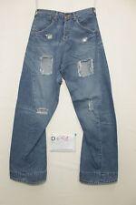 levis Engineered 653 mit zerissen Boyfriends Jeans gebraucht Cod.D651 Größe 44