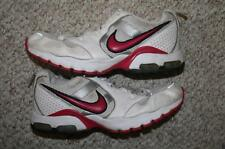 Nike Shoes 9 white gray pink running womens women shoe run size nine Air Max