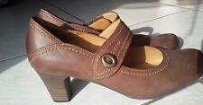 Gabor Damen Dirndl Schuhe Pumps Schuhe Größe 42 ,   Weite G,  Echtleder