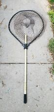 "Vintage Frabill Alumatec Professional Fishing Net 21"" Hole 36"" Handle"
