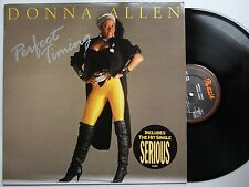 Donna Allen Perfect Timing UK 1986 LP Inc. Serious
