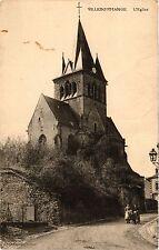 CPA Villedommange, L'Eglise (346266)